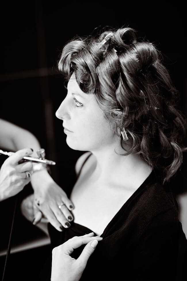 Surrey airbrush make-up artist